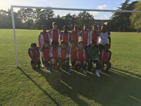 Year 9 Football match Vs. Bishop Stopford