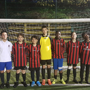 Year 9 Boys just miss out on qualification