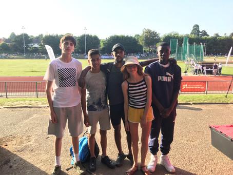 Mr Mohamed's 800m Elite Race