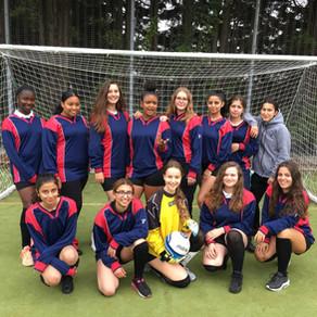 Senior Girls Football game Vs. Chace School
