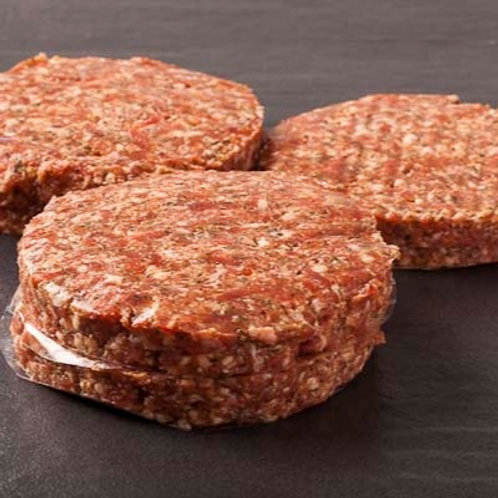 4 x 6oz Gluten Free Beef Burgers