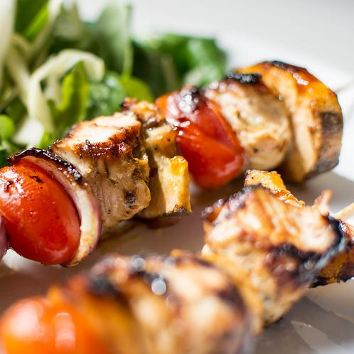 Chunky Turkey Kebabs