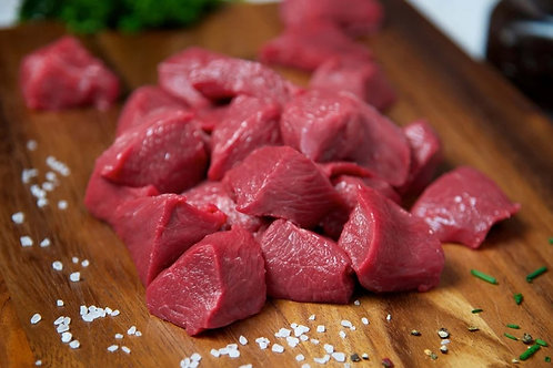 Finest Diced Beef - 1kg