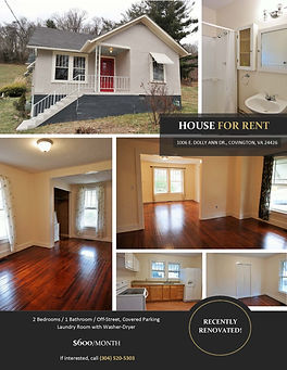 Ronceverte WV rental house for rent