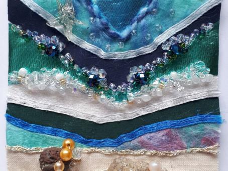 Shorelines Textile Pieces