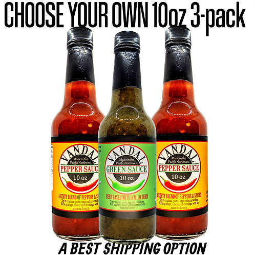 CHOOSE YOUR OWN 10oz THREE-PACK