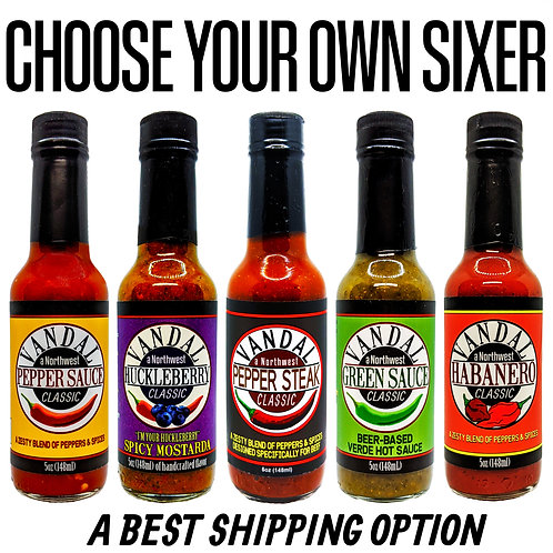 CHOOSE YOUR OWN SIXER