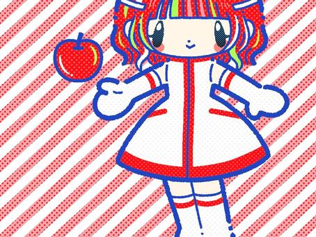 【名刺デザイン・イラスト担当】藤林檎様名刺
