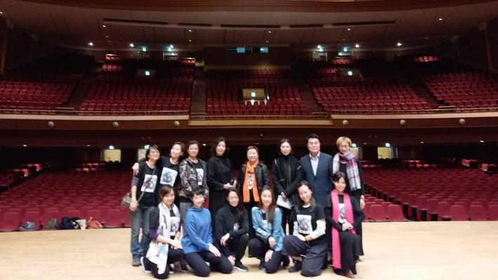 22日參觀慶熙大學和平大劇院及舞蹈大樓,並作韓港交流的互動交談