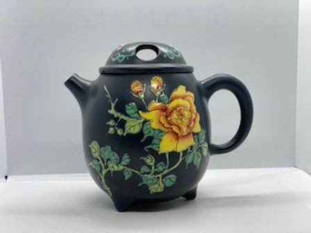 Handmade clay teapots