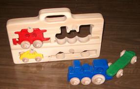 Train in a Case