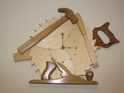 Woodworker's Clock