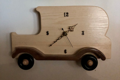 Old Car Clock