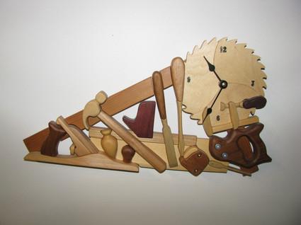Woodshop Clock