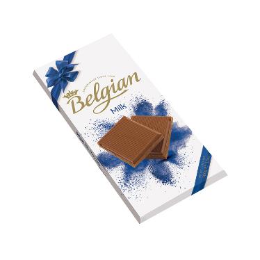 בלגיאן – שוקולד חלב משובח 100 גרם