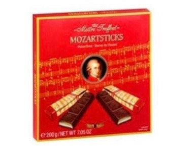 מוצרט בונבונירה אצבעות שוקולד