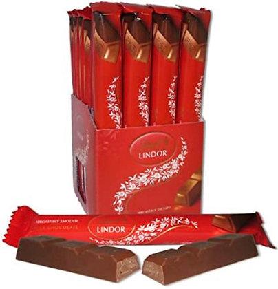 מקלות שוקולד לינדור חלב