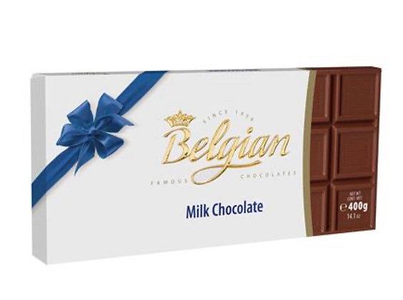 שוקולד בלגיאן 400 גר חלב