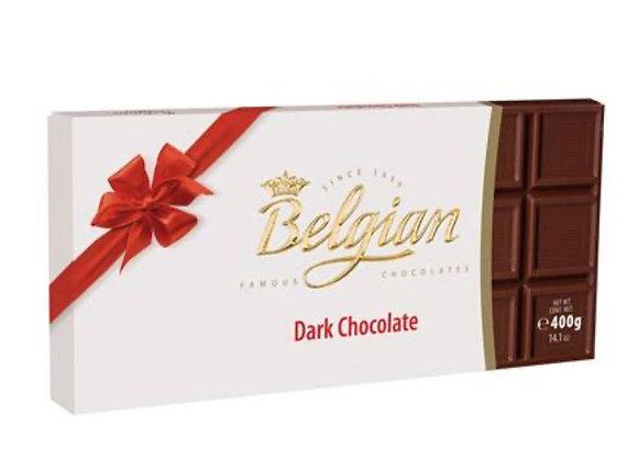 שוקולד בלגיאן 400 גר מריר