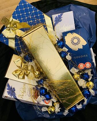 הסלסלה הכחול-זהב בלו נאן גולד