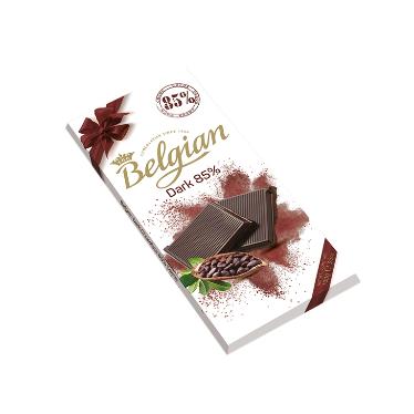 בלגיאן – שוקולד בלגי מריר 85% 100 גרם