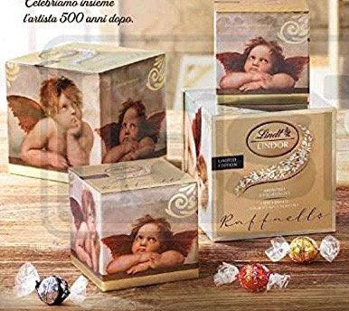 קופסאת מלאך לינדור מעורב 425 גר