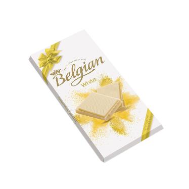 בלגיאן – שוקולד לבן משובח 100 גרם