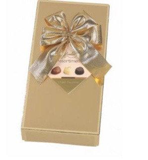 בונבוניריה שוקולד זהב 125 גרם.