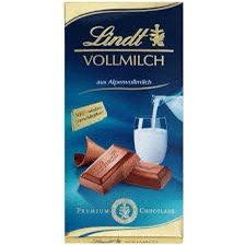 לינדט שוקולד חלב 100 גר