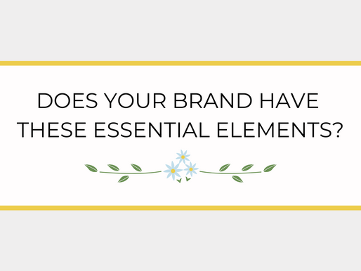 THE FOUR NON-NEGOTIABLES FOR A GREAT BRAND
