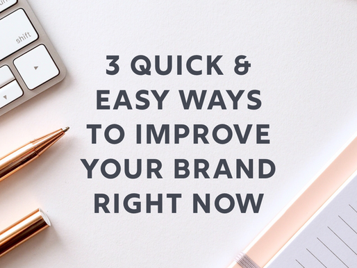 3 Easy Ways You Can Level Up Your Brand Right Now