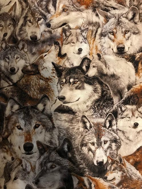 Wolf Mitten Bag
