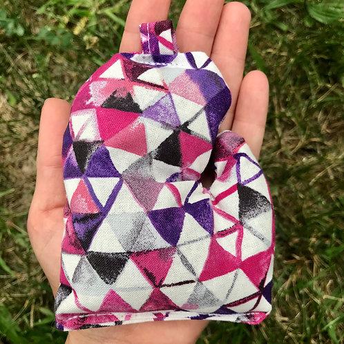 Triangle Mitten Bag
