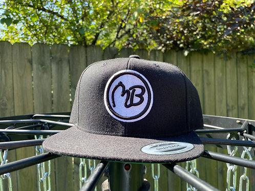 Black/White Snapback Hat