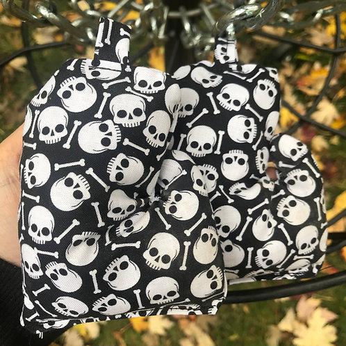 Skull and Bones Mitten Bag