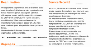 CHSCT - CTE : Retour sur les dernières instances de l'année.
