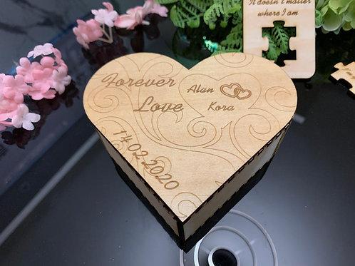 情人節心形飾物盒 套餐A