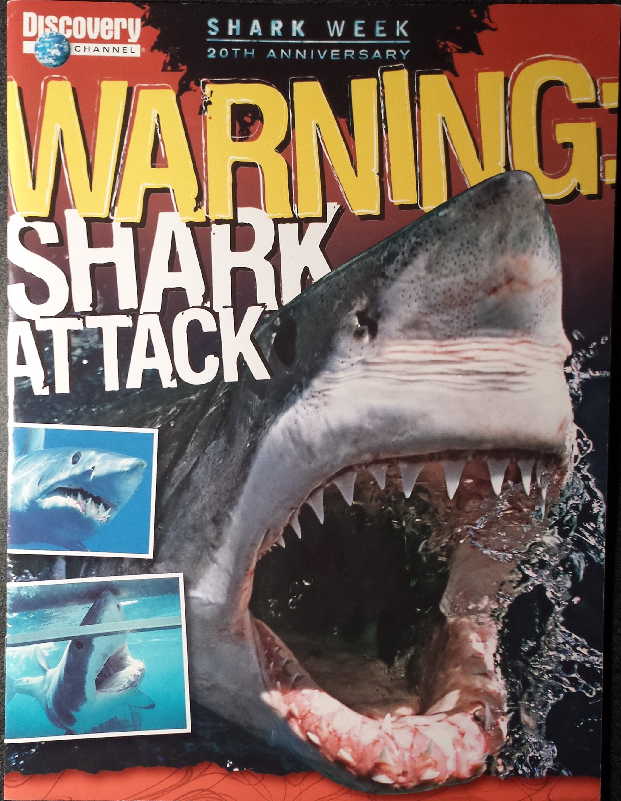 Warning Shark Attack