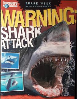 Warning Shark Attack