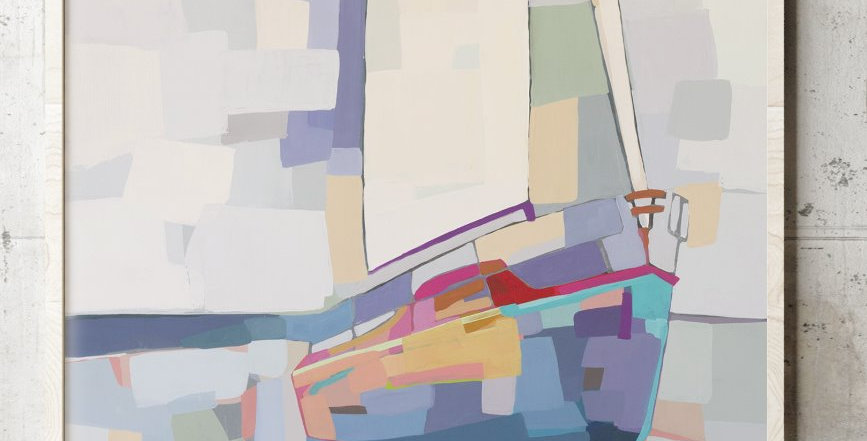 Sailboat In Color