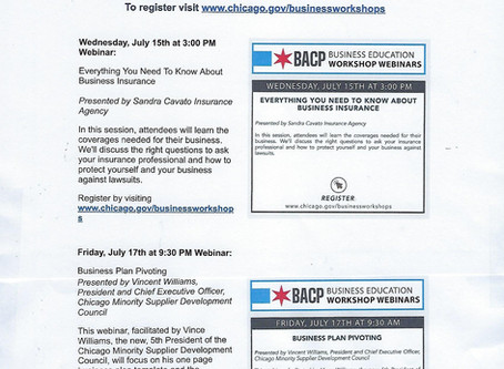BACP Workshop Webinars