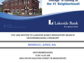 LAKESIDE BANK GROUNDBREAKING CEREMONY