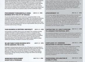 DPS July Workshops