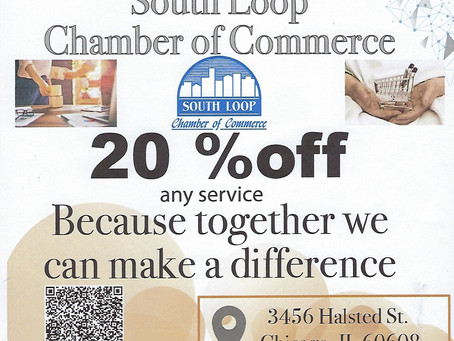 Tax & Beyond Offers Discount to fellow South Loop Chamber Members