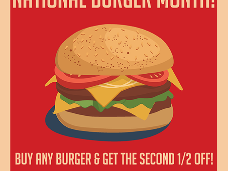 Connie's May Burger Special
