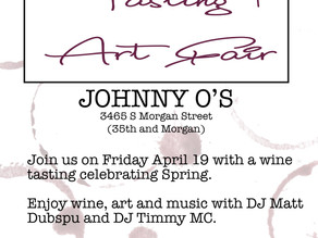 WINE TASTING WITH THE WINDY CITY WINE GEEK APRIL 19 7pm
