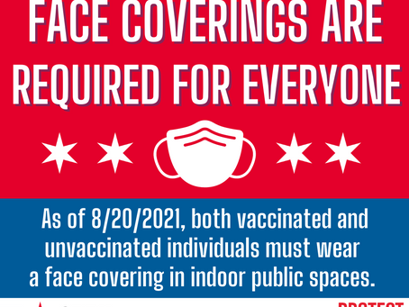 Face Coverings are Required for Everyone