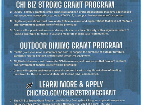 CHIBIZ STRONG GRANT PROGRAM