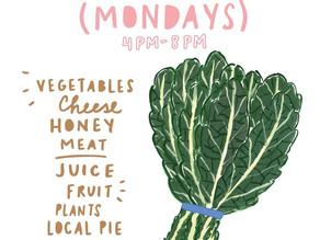 Bridgeport Farmers Market Mondays