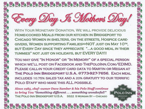 SUPPORT EVERY DAY IS MOTHERS DAY!